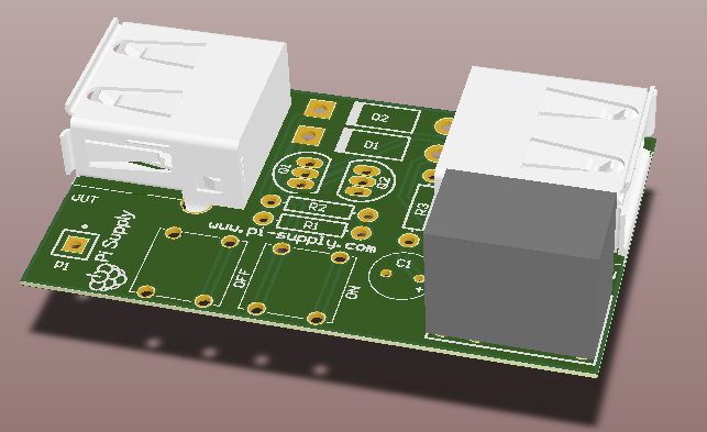 Front View of 3D Computer Model