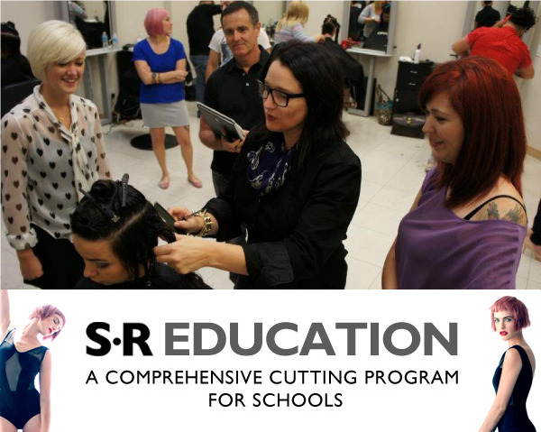 Support an independent beauty education program with a haircutting DVD