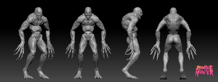 "Pre-Production Sculpt: ""Hybrid"""