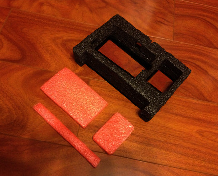 Die Cut High Density Polyethylene Foam Inserts