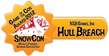 Hull Breach! Alpha run wins Best New Game of SnowCon 2012