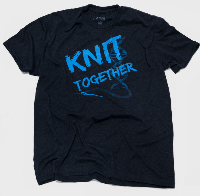 "Knit Together - Shirt inspiration: Psalms 139:13 - Shirt text ""Knit together"""
