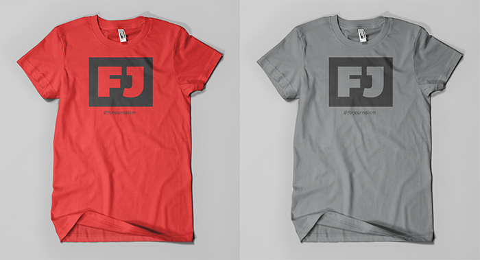 Limited run T-shirts to help you spread the word.