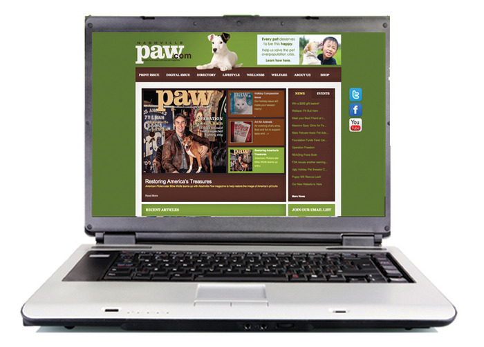 Visit our website at nashvillepaw.com!