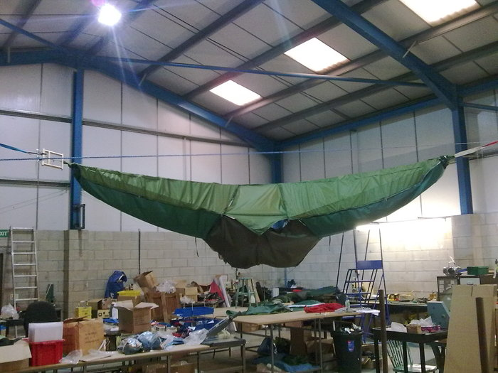 Tentsile 1 being made in the factory