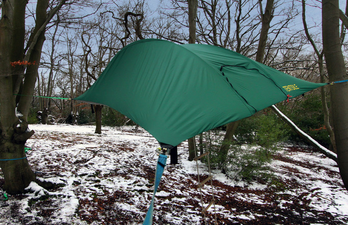The brand new, lightweight, Tentsile Stingray