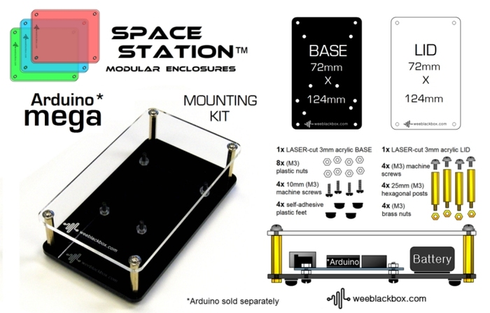 """MEGA"" SpaceStation Kit."