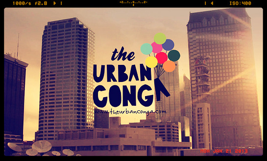 *REWARD #5 - The URBAN CONGA poster