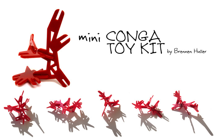 REWARD #2 - Mini Conga Toy set