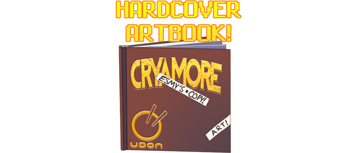 (Esmy's copy pictured; backers will get a slightly more incredible copy.)