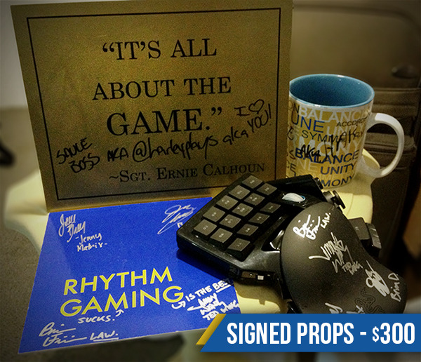 $300 Reward - Signed Props (examples from Season One)