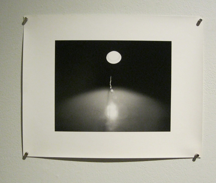 A beautiful gelatin silver photograph printed by the photographer and MICA professor Lynn Silverman