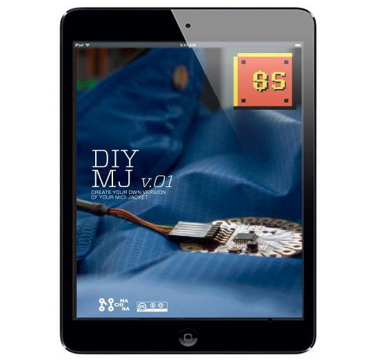Digital DIY manual for the midi jacket, the source code for the app, a cost breakdown of our products so you know how much money we're making off the other donors, and we will set up a poll where donors for this reward can vote for our twitter background.