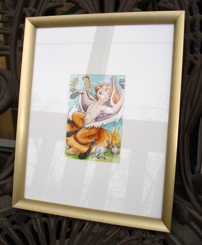 Magician framed original art reward!