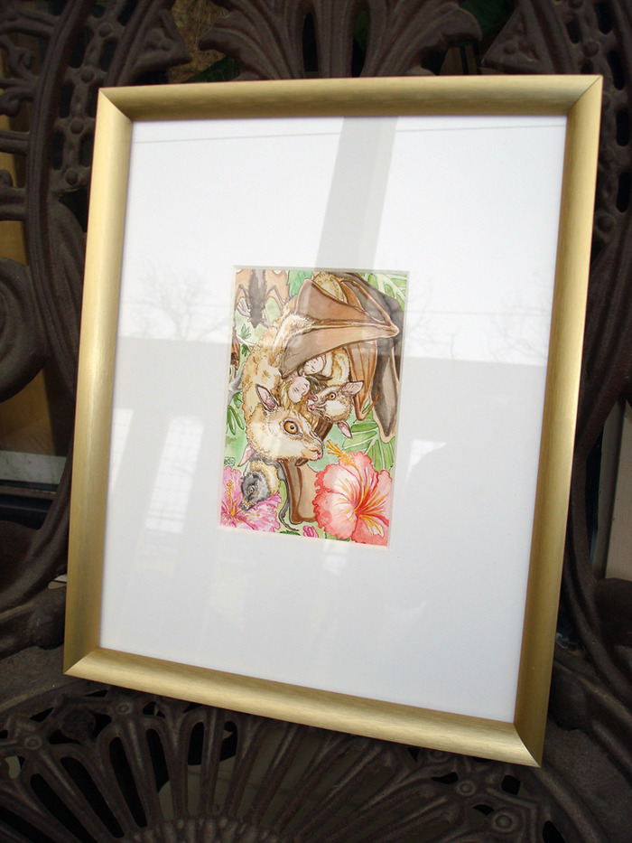The Lovers framed original art reward