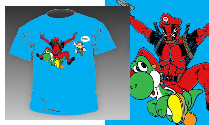 Nobody But Deadpool T-shirt