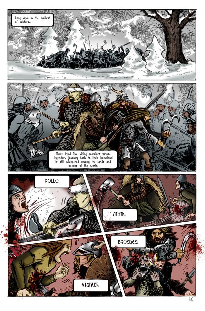 VIKE, VOLUME 1 (page 1)