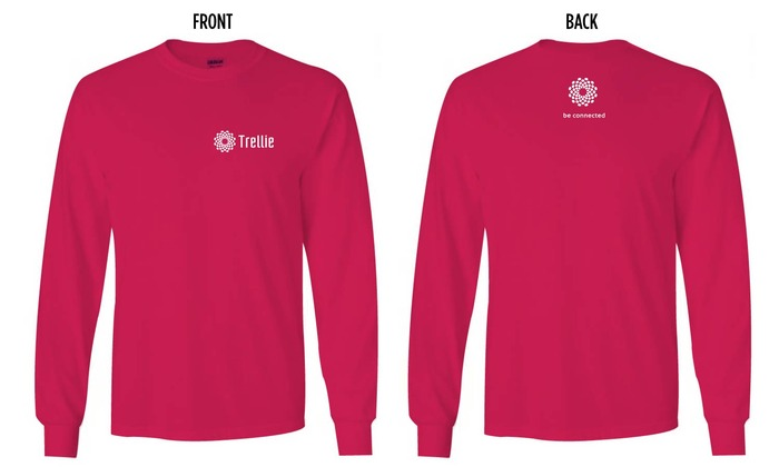Trellie Long-sleeve T-shirt: $25