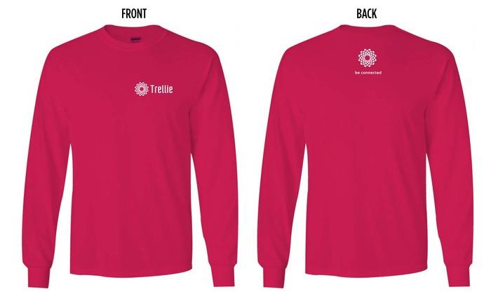 Trellie Long-sleeve T-shirt: $25