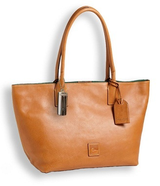 'Russel - Small' Leather Tote + Trellie: $225