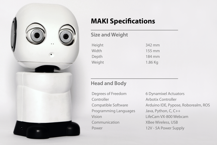 MAKI Specifications