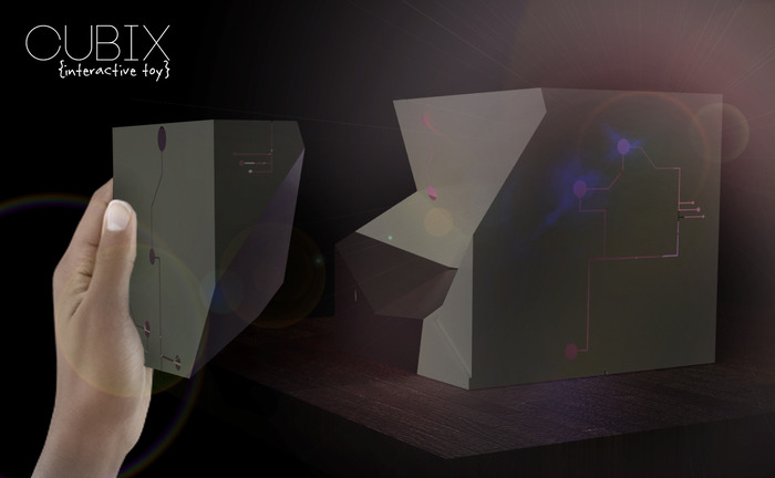 *REWARD #8- Cubix (interactive toy)