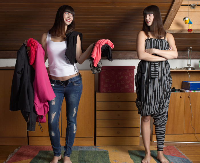 Clothes you don't need and Pants on 1001 Way