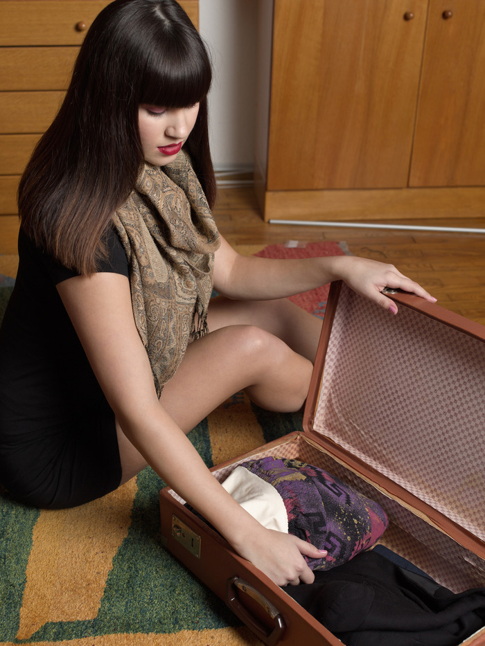 No more crowded and heavy suitcases