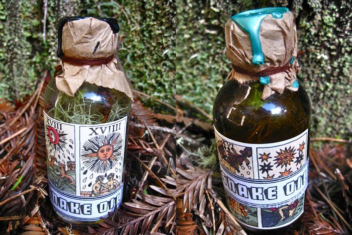 Pair of 2.oz Glass Bottles