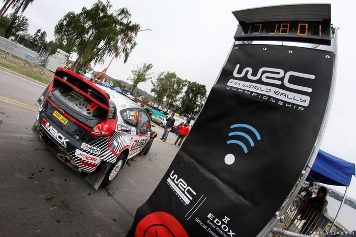 The S1Tec Time Control at Service Park in Greece 2012