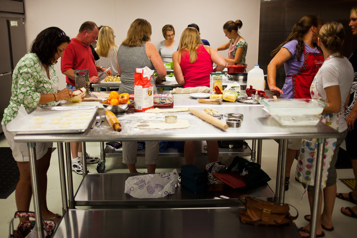 Hands-on Class at Uptown Kitchen (Photo Credit: Jonathan Stoner Photography)
