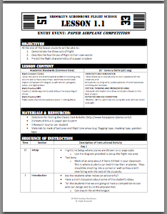 Sample Lesson Plan (5 pages)