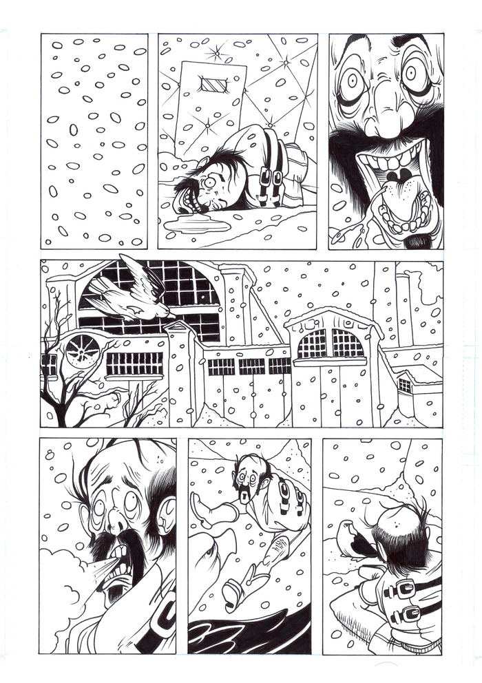 Snowglobes and Albatrosses page 1 by Scott Irwin