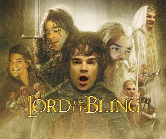 lord of the bling poster art