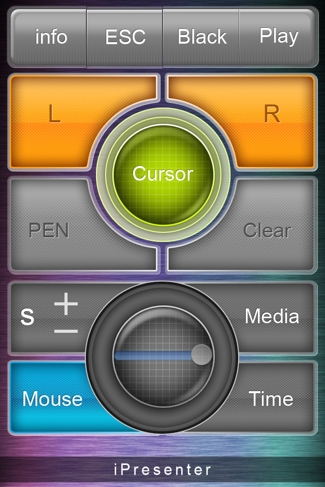 Mouse interface lets you control your cursor.