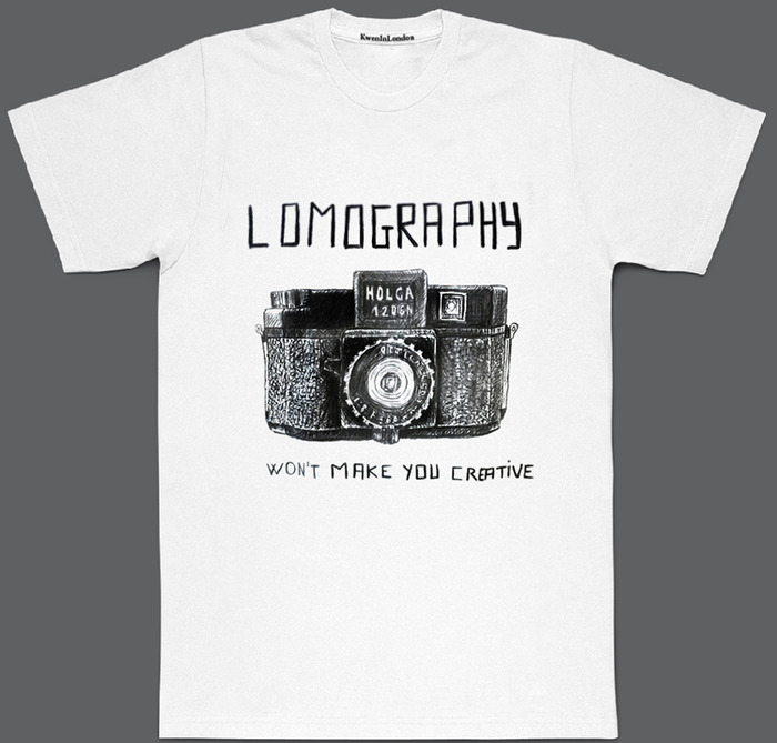 Lomography, won't make you creative