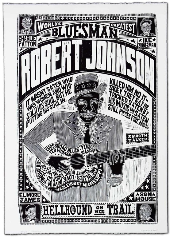 """Robert Johnson, World's Greatest Bluesman"" $500"