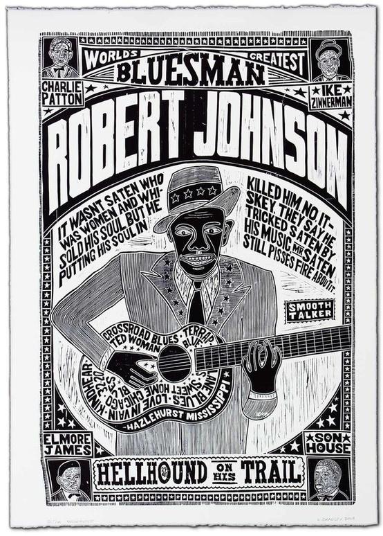 """""""Robert Johnson, World's Greatest Bluesman"""" $500"""