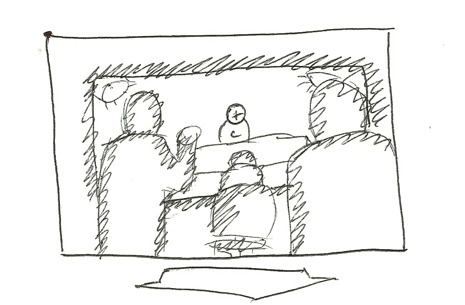 Early Storyboard Sketch