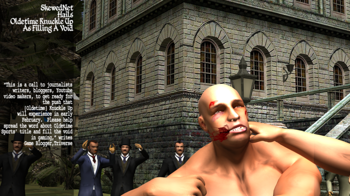 "SkewedNet: ""World Exclusive: Oldetime Knuckle Up Boxing Game Details"" Blog"