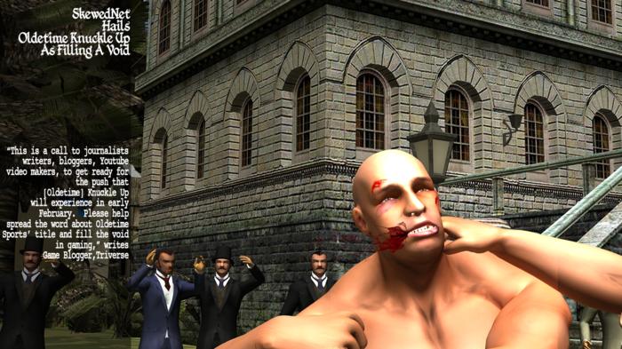 """SkewedNet: """"World Exclusive: Oldetime Knuckle Up Boxing Game Details"""" Blog"""