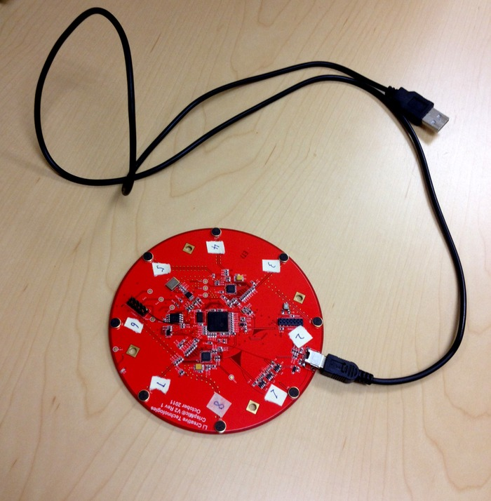 CrispMic-3D Mic PCB with USB cable