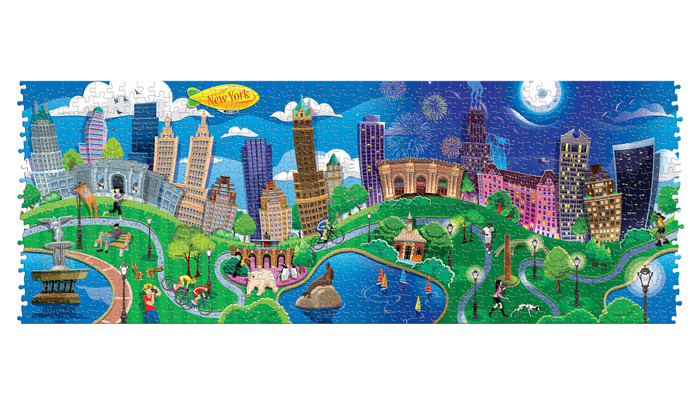 Join the puzzles together to compose one large 700 piece puzzle which still can be manipulated.