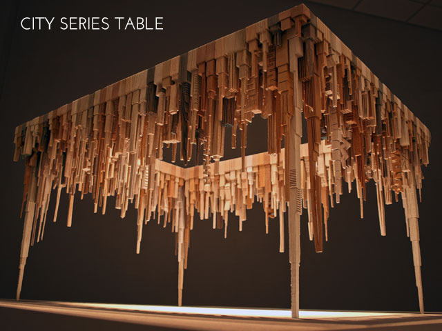 Click to see the making of City Table