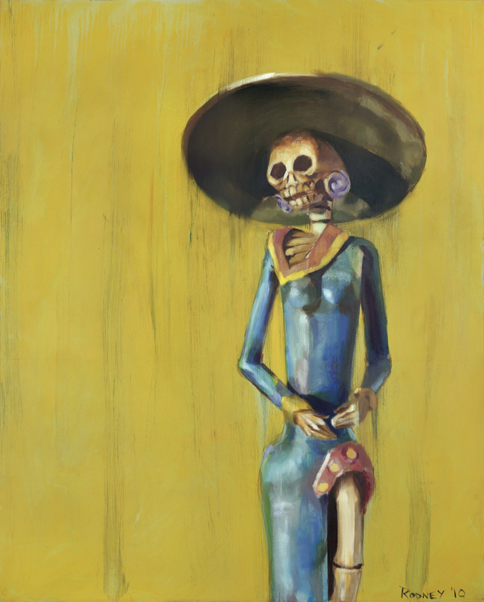 """Day Of The Dead"" 48x60in Oil on Canvas"