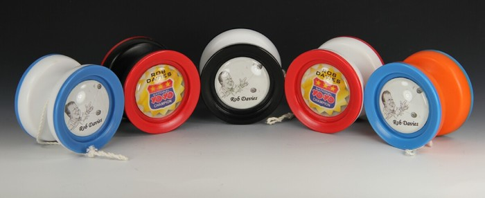 Rob Davies (National YoYo Champion) Personalized Yo-Yo Set