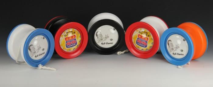 Rob Davies (National YoYo Champion) Personalized Yo-Yo Set