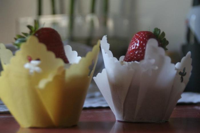 True Strawberry with Buttercream