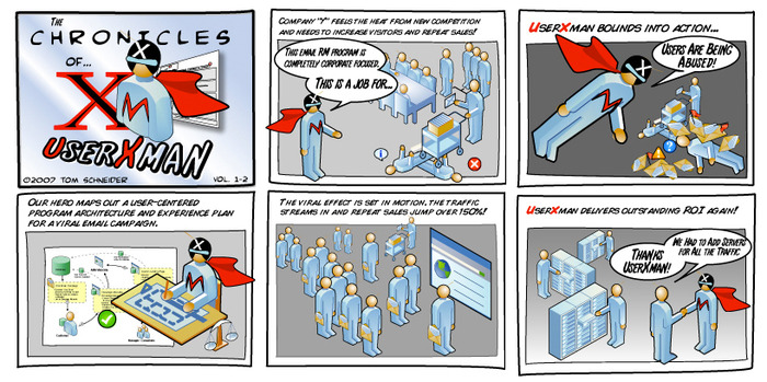 The original UserXman comic - that started it all!