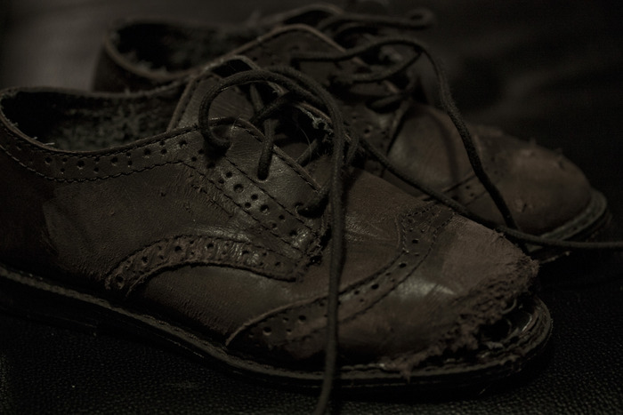 Sample of Distressed Shoes Prop